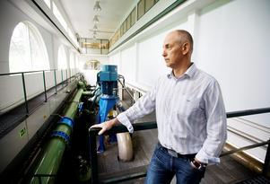 - De är en lång historia, säger Lars Ferbe om konflikten på tekniska förvaltningen som resulterade i att det nya vattentornet försenats minst ett år.Arkivfoto: Petter Koubek