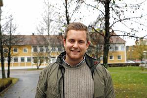 Daniel Johansson, riksdagskandidat och ordförande för barn- och utbildningsnämnden för S i Hofors.