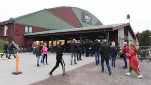Moras hemmaarena Jalas Arena håller inte måttet för SHL. Inför nästa säsong, om årets nykomling blir kvar, måste klubben bygga om hallen eller bygga nytt. Foto: Daniel Eriksson/Bildbyrån