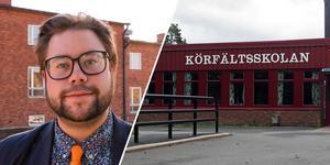 Joel Nordkvist (M), ordförande i barn- och utbildningsnämnden, menar att man ville ha ett mer allmänt hållet yttrande eftersom man inte kan veta exakt varifrån eleverna kommer att strömma till Engelska skolan.