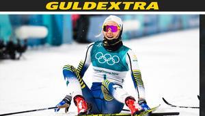 Stina Nilsson vann ett OS-guld för Sverige. Foto: Carl Sandin (Bildbyrån).