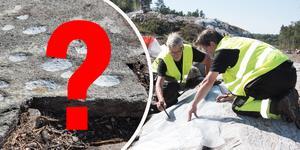Skålgroparna som arkeologerna fann i Norvik är ett tidsmässigt mysterium.