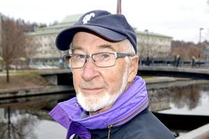 Lennart Westerlund, 80 år, pensionär, Bergeforsen:
