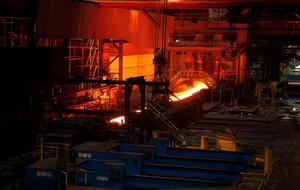 SSAB siktar på en fossilfri stålproduktion.