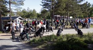 Norrfällsvikens golfklubb  har drabbats av sabotage flera gånger sedan i våras. Arkivfoto