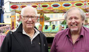 Lasse Lingman och Carl-Arne Carlsson tror på en bra Strömmingslek.