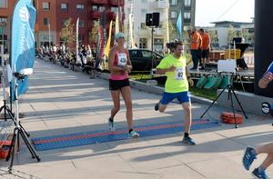 Jenny Rutström var i mål som första kvinna med tiden 28.22.