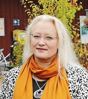 – Vi har jobbat så hårt i alliansen och är naturligtvis besvikna. Våra vänner svek oss, säger Agneta Nyvall (M), om den nya majoriteten där C och L  ska styra med Socialdemokraterna. Foto: Erik Jerdén