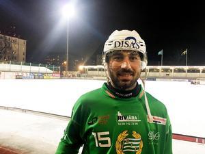 Alan Dzhusoev debuterade för Hammarby.