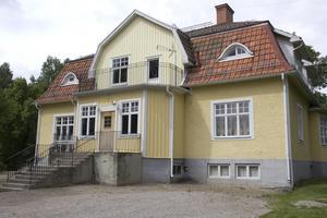 Lunds skolas matsal ligger i en separat byggnad.