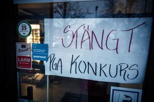 Nu har konkursförvaltaren tagit över butiken i Säter.