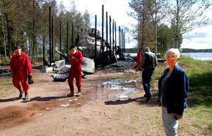Det var en dyster morgon i Venjan när S/S Tomten brann upp. Lyckligtvis fanns det tillräckligt mycket kvar för att rädda ångbåten.