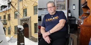 85-årige Jens Carlsson, från Skattungbyn i Orsa kommun, blev rånad på instrument och misshandlad vid sitt hem. Nu har två män, från Orsa och Leksands kommun, dömts till två års fängelse för rån. Foto: Mats Laggar och Arkivbild