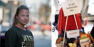 Josefin Sahlin Babar har stått som arrangör för den populära barnbasaren i Scaniarinken de senaste åren. Men nu är hon på jakt efter ny lokal eftersom hyran blivit för hög. Foto: Peter Johansson och LT:s arkiv.