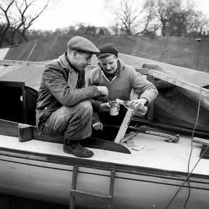Det finns inget dåligt väder för båtfejare.