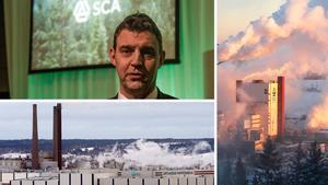 Ulf Larsson är nöjd med hur det har gått sedan koncernen förra året delades upp i två delar. Bilden är ett montage.