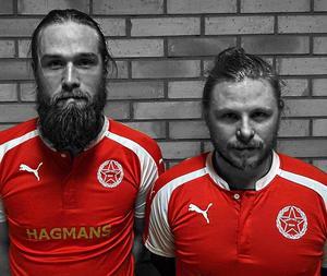 Martin Fors och André Sjödal är klara för Svartvik.