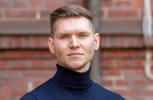 Markus Allard, Örebropartiets partiledare.  Pressbild