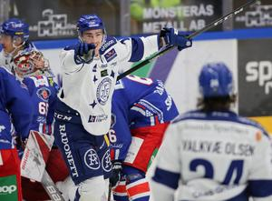 Leksands Tobias Forsbergs skadade sig allvarligt i slutet av december förra året och som gjorde att han blev förlamad från bröstet och nedåt.