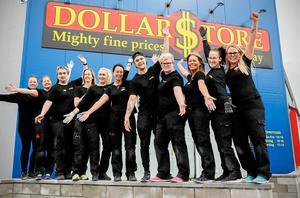 Nya Dollarstore slog upp portarna den 25 april.