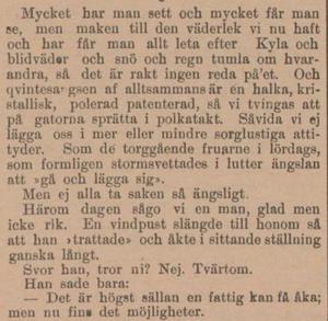 Från ÖP, 4 februari 1896.