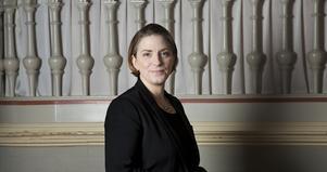 Stina GullanderAnna Troberg, ordförande för fackförbundet Dik, menar att bibliotekens situation i grunden är ett samhällsproblem. Bild. Stina Gullander