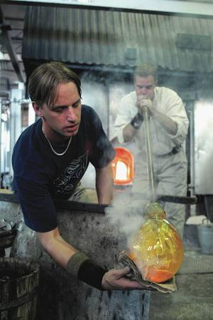 Besök på Kosta glasbruk.