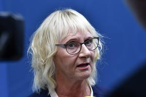 Lena Micko (S) är Sveriges nya civilminister. Foto: Henrik Montgomery/TT