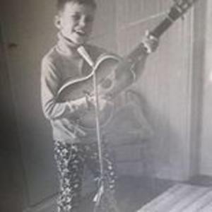 En ung Per Ström, ungefär åtta år.