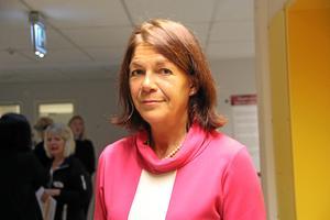 Annette Trenge Jarlshammar, chefläkare Skaraborgs Sjukhus, oroas över ett minskat söktryck på sjukhuset akut.