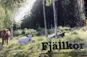 Fjällkor, ny bok från Hede förlag.