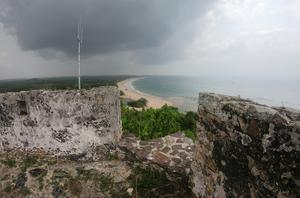Utsikten från fort Batenstein.