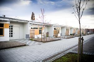 Hamre gård, med 16 lägenheter stod klara 2010. Foto: Arkiv/Katarina Hansson