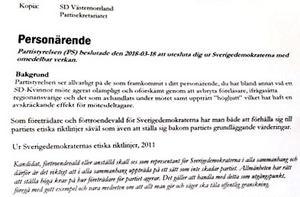 Att Lotta Appelqvist var oförskämd genom att avbryta, att hon ifrågasatte och uppträdde