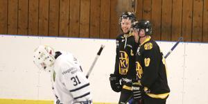 Felix Hedin och Kim Rosman återvände båda till Hallsta IK inför förra säsongen från Östhammars SK.