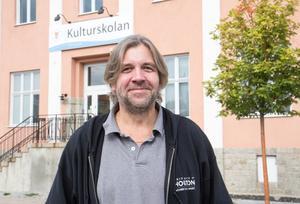 Arne Almroth, rektor för Kulturskolan i Nynäshamns kommun.