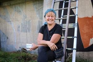 Ragnhild Sandelius Brodow kommer att färdigställa konstprojektet på Hällåsen under 2020.