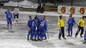 Motala fick jubla mest i fredagens match efter den sena kvitteringen som räddade poäng i kvalmötet.