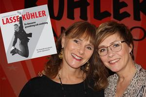 Foto: Torbjörn ÖsterholmInnan Lasse Kühler dog påbörjade han en minnesbok om sitt liv i nöjesbranschen, nu har döttrarna Marie Kühler Flack och Cathrin Kühler färdigställt boken.