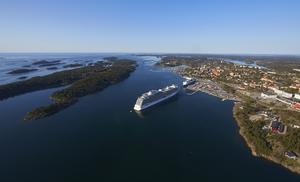 35 besök är inplanerade till Nynäshamn under säsongen. Foto: Stockholms Hamnar/Per-Erik Adamsson