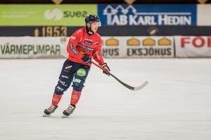 Oscar Wikblad blev tvåmålsskytt mot AIK.