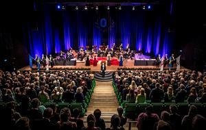 Den stora akademiska högtiden vid Örebro universitet firar i år 20-årsjubileum. Foto: Pavel Koubek/Icon