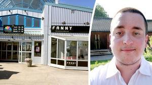 Nye ägaren Robin Palander startar upp butiken i Cupolen i Birsta.