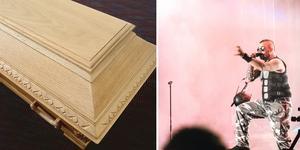 Hårdrock och begravningar. En kombination som blir allt vanligare. Foto: Arkiv/Emil Danielsson