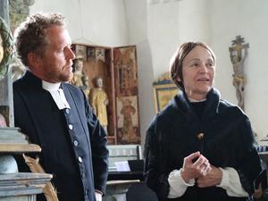 Örjan Berglund och Marie Sundberg som gestaltar Jonas och Sofie Söderblom.