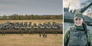 Montage. Foto: Försvarsmakten.