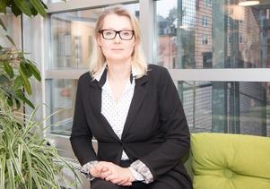 Lina Axelsson Kihlblom är chef för barn- och utbildningsförvaltningen i Nynäshamn.