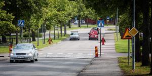 Under onsdagsmorgonen börjar asfalteringsarbetena på Centrumleden i Arboga.