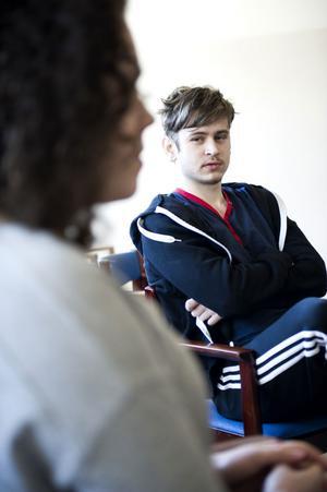 Dawid Lizak är upprörd över det sjuksköterskan sagt till hans flickvän.
