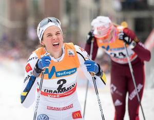 Anna Dyvik slutade på en fjärdeplats.Foto: Terje Pedersen / NTB scanpix / TT